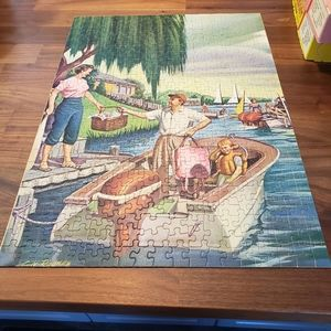 Lot of 4 Vintage Puzzles